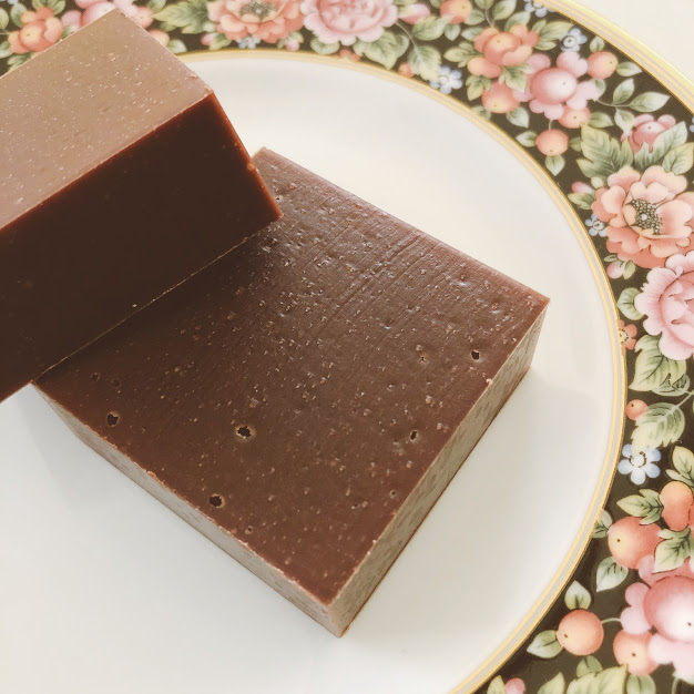 チョコレート石けん