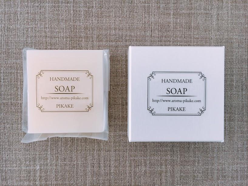 「素材にこだわったシンプルな洗顔石けん」のご注文はこちらのイメージ
